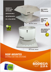 ROOF-MOUNTED EXTRACTOR FAN SYSTEMS
