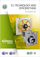E.C. TECHNOLOGY AND EFFICIENT WORK FANS
